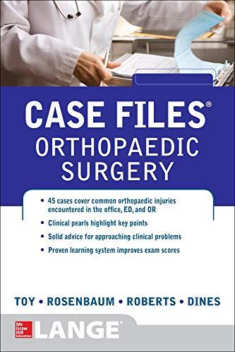 9780071790307: Case Files Orthopaedic Surgery (LANGE Case Files)