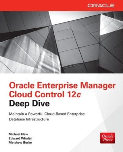 9780071790574: Oracle Enterprise Manager Cloud Control 12c Deep Dive
