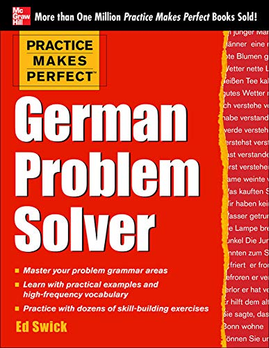 9780071791151: Practice Makes Perfect German Problem Solver: With 130 Exercises
