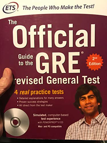 9780071791205: The Official Guide to the GRE Revised General Test