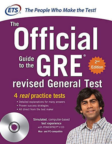 9780071791236: GRE The Official Guide to the Revised General Test with CD-ROM, Second Edition (Official Guide to the Gre)