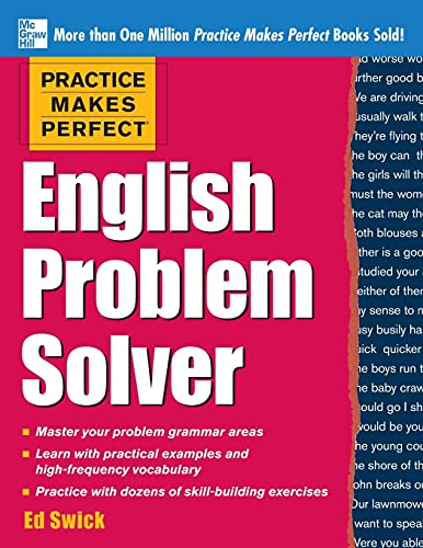 9780071791243: Practice Makes Perfect English Problem Solver: With 110 Exercises