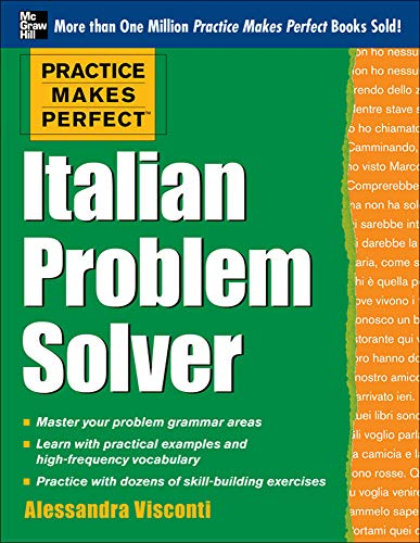 9780071791267: Practice Makes Perfect Italian Problem Solver: With 80 Exercises