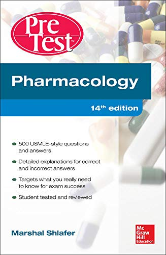 9780071791465: Pharmacology PreTest Self-Assessment and Review 14/E