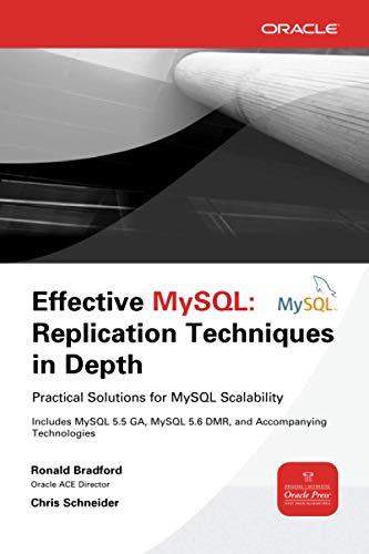 9780071791861: Effective MySQL Replication Techniques in Depth (Database & ERP - OMG)