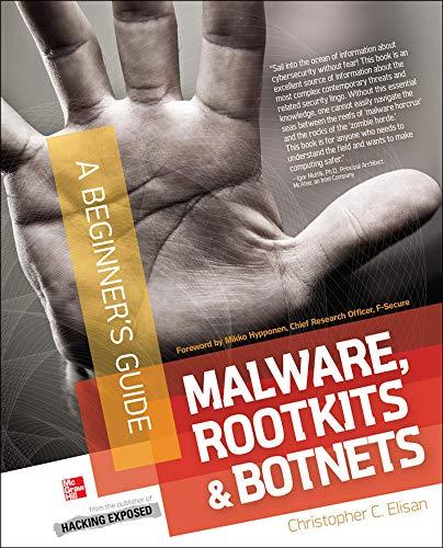 9780071792066: Malware, Rootkits & Botnets A Beginner's Guide