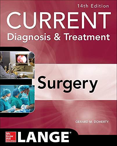 9780071792110: Current Diagnosis and Treatment Surgery 14/E
