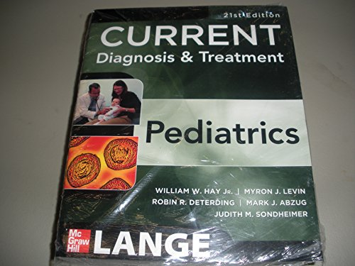 9780071792899: Current Diagnosis & Treatment Pediatrics(Chinese Edition)