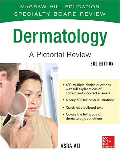 9780071793230: McGraw-Hill Specialty Board Review Dermatology A Pictorial Review 3/E (Mcgraw-Hill Education Specialty Board Review)