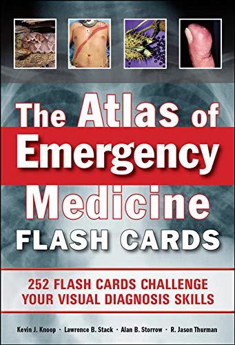 9780071794008: The Atlas of Emergency Medicine Flashcards