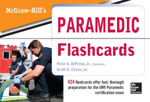 9780071794121: McGraw Hill's Paramedic Flashcards (A & L Allied Health)
