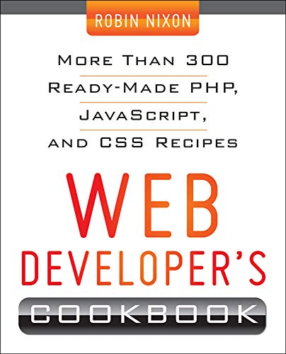 9780071794312: Web Developer's Cookbook