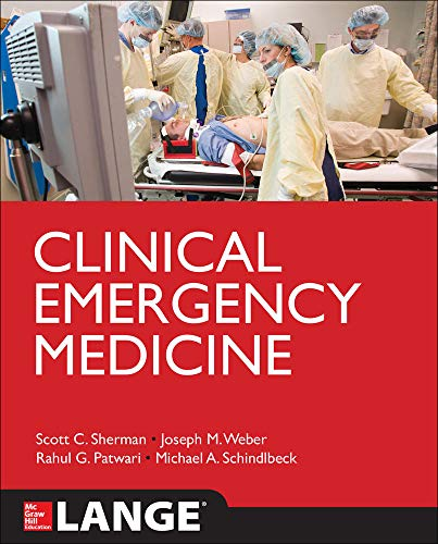 9780071794602: Clinical Emergency Medicine (Lange Medical Books)