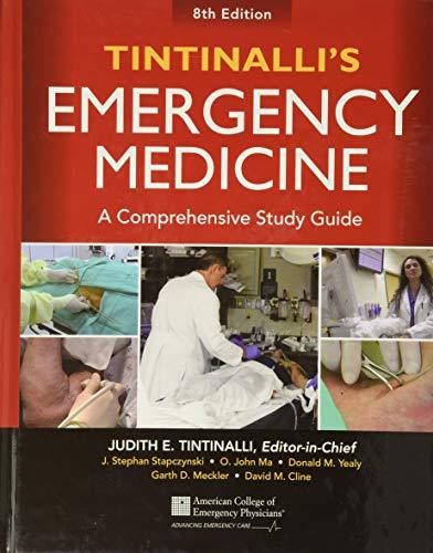 9780071794763: Tintinalli's Emergency Medicine: A Comprehensive Study Guide, 8th edition (Internal Medicine)