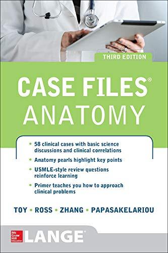 9780071794862: Case Files Anatomy 3/E (LANGE Case Files)