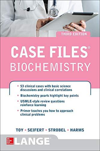 9780071794886: Case Files Biochemistry 3/E (LANGE Case Files)