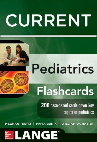 9780071795333: Lange CURRENT Pediatrics Flashcards (LANGE FlashCards)