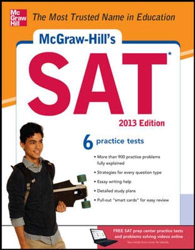 9780071795821: McGraw-Hill's SAT, 2013 Edition