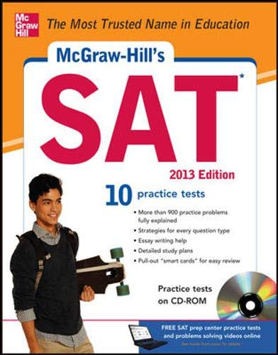 9780071795869: McGraw-Hill's SAT with CD-ROM, 2013 Edition (McGraw-Hill's SAT (W/CD))