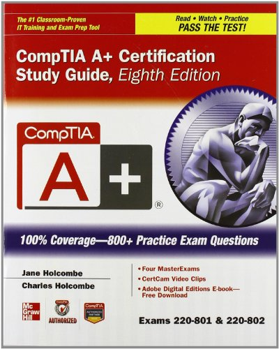 9780071796132: CompTIA A+ Certification Boxed Set, Second Edition (Exams 220-801 & 220-802) (Certification Press)