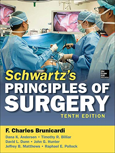 9780071796750: Schwartz's Principles of Surgery, 10th edition