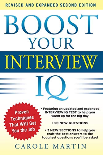 9780071797467: Boost Your Interview IQ 2/E