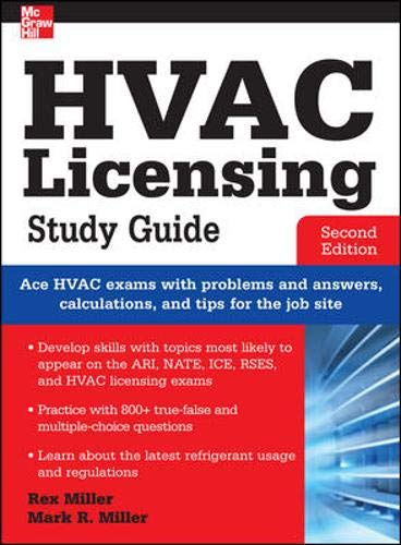 9780071798273: HVAC Licensing Study Guide, Second Edition