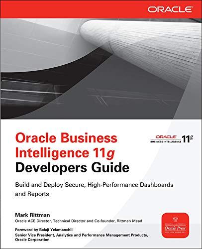 9780071798747: Oracle Business Intelligence 11g Developers Guide (Database & ERP - OMG)