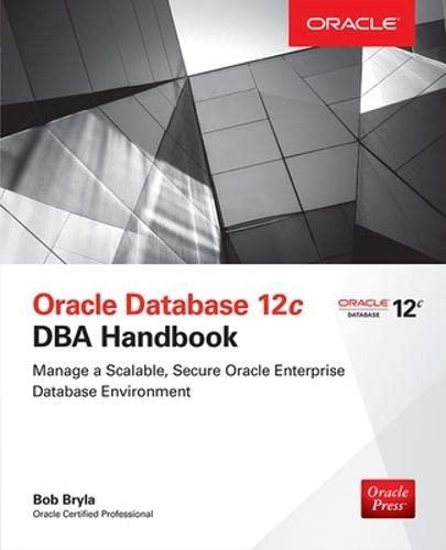 9780071798785: Oracle Database 12c DBA Handbook (Oracle Press)