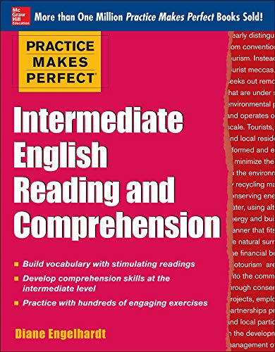 9780071798846: Practice Makes Perfect Intermediate English Reading and Comprehension (Practice Makes Perfect Series)