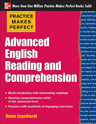 9780071798860: Advanced English Reading and Comprehension