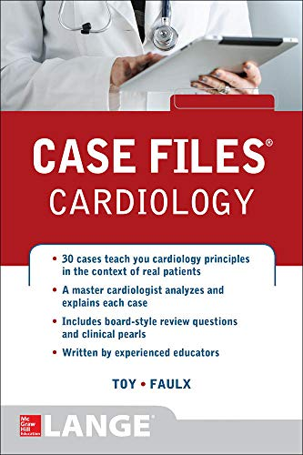 9780071799195: Case Files Cardiology (Communications and Signal Processing)