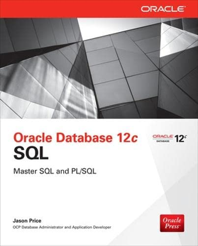 9780071799355: Oracle database 12c SQL