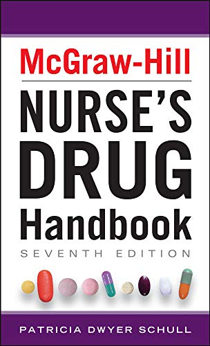 9780071799423: McGraw-Hill Nurses Drug Handbook, Seventh Edition (McGraw-Hill's Nurses Drug Handbook)