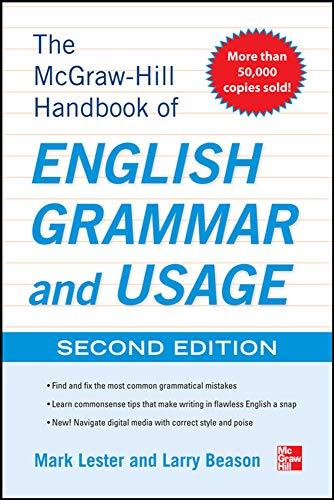 9780071799904: McGraw-Hill Handbook of English Grammar and Usage, 2nd Edition