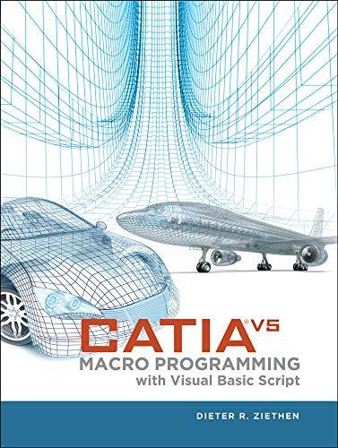 9780071800020: CATIA V5 Macro Programming with Visual Basic Script