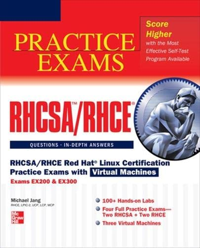 9780071801607: RHCSA/RHCE Red Hat Linux Certification Practice Exams with V (Book & DVD)