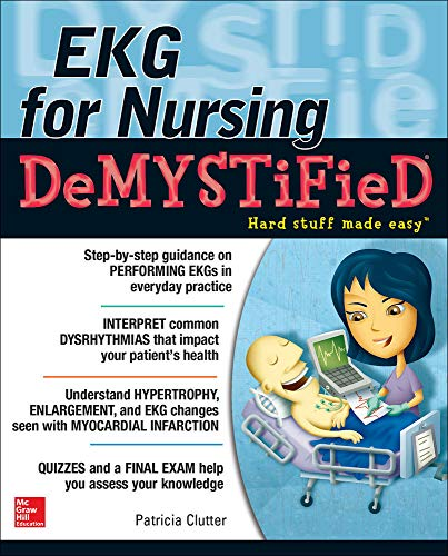 9780071801690: EKG's for Nursing Demystified (Demystified Nursing)