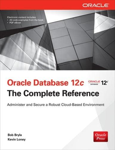 9780071801751: Oracle Database 12c The Complete Reference (Oracle Press)