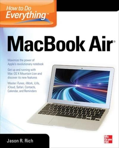 9780071802499: How to Do Everything MacBook Air