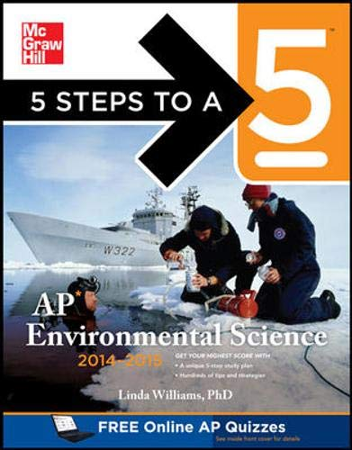 9780071802604: 5 Steps to a 5 AP Environmental Science, 2014-2015 Edition (5 Steps to a 5 on the Advanced Placement Examinations)