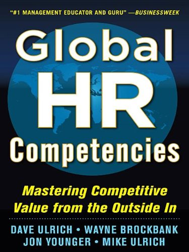 9780071802697: Global HR Competencies: Mastering Competitive Value from the Outside-In (EBOOK)