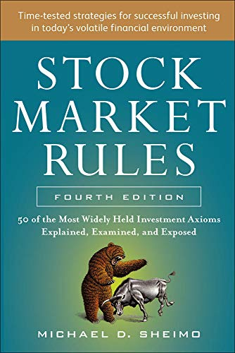 9780071803250: Stock Market Rules: The 50 Most Widely Held Investment Axioms Explained, Examined, and Exposed, Fourth Edition