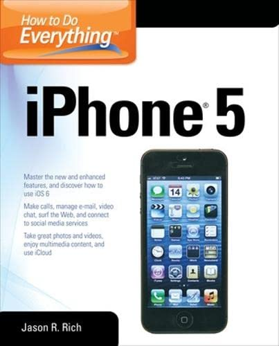9780071803335: How to Do Everything: iPhone 5