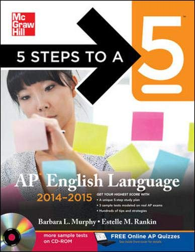 9780071803595: 5 Steps to a 5 AP English Language with CD-ROM, 2014-2015 Edition (5 Steps to a 5 on the Advanced Placement Examinations)