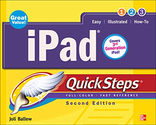 9780071803717: iPad QuickSteps, 2nd Edition: Covers 3rd Gen iPad
