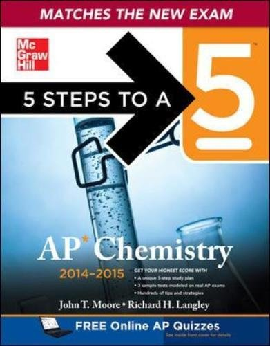9780071803731: 5 Steps to a 5 AP Chemistry, 2014-2015 Edition (5 Steps to a 5 on the Advanced Placement Examinations)