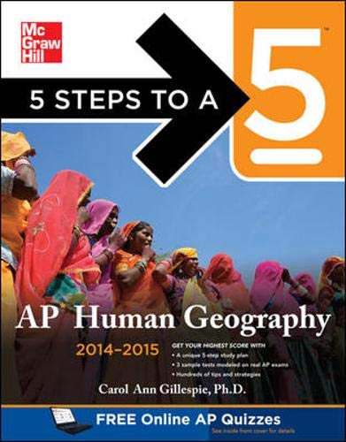 9780071803755: 5 Steps to a 5 AP Human Geography, 2014-2015 Edition (5 Steps to a 5 on the Advanced Placement Examinations Series)