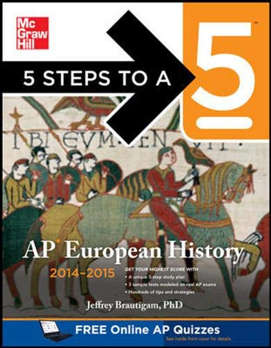 9780071803779: 5 Steps to a 5 AP European History, 2014-2015 Edition (5 Steps to a 5 on the Advanced Placement Examinations)