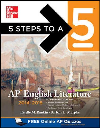 9780071803793: 5 Steps to a 5 AP English Literature, 2014-2015 Edition (5 Steps to a 5 on the Advanced Placement Examinations Series)